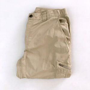 Columbia Omni-Shade Mens Tan Hiking Pants 36 x 30